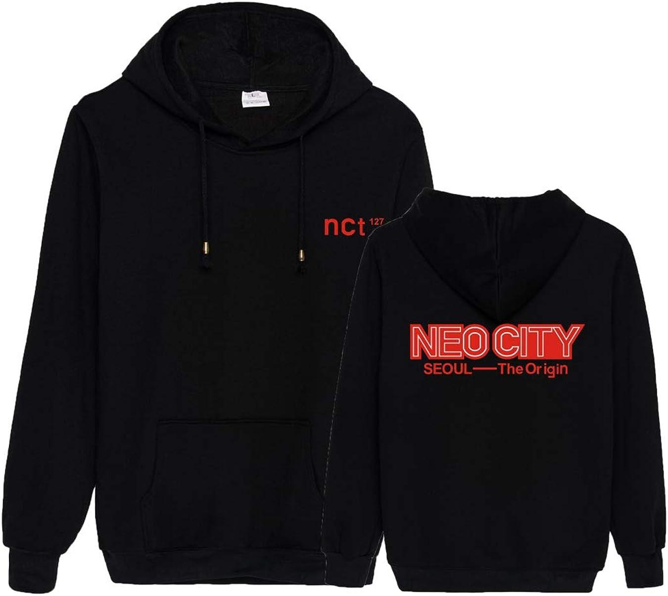 KPOP New NCT127 Hoodie Round Neck Unisex Sweatershirt Haechan MARK Coat Sweaster