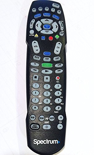 Spectrum TV Remote Control 3 Types To Choose FromBackwards compatible with Time Warner, Brighthouse and Charter cable boxes (Pack of One, RC 122)