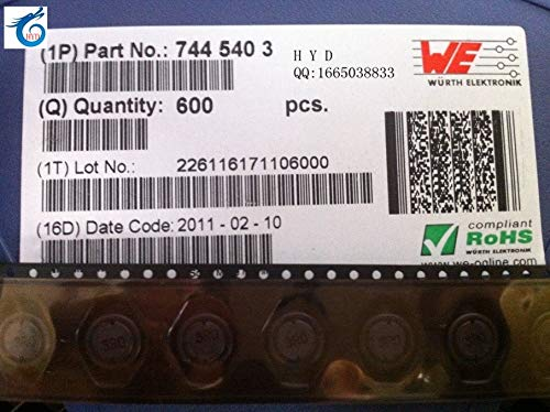 Maslin 7445403 DS3316 3R0 3UH 5 9A 127X10X5MM WURTH Shielded SMD Power  Inductor