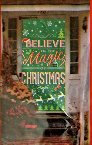 Christmas Door Cover Believe in the Magic of Christmas 30