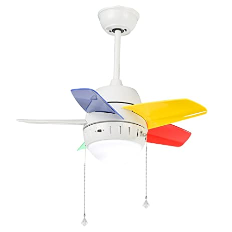 Andersonlight led child ceiling fan revolve 26 inch indoor 3 acrylic andersonlight led child ceiling fan revolve 26 inch indoor 3 acrylic blades light kit with opal aloadofball Image collections