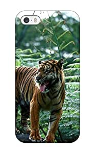 For FQxUkWC6948YZqap Tiger Wallpaper Protective Case Cover Skin/iphone 5/5s Case Cover