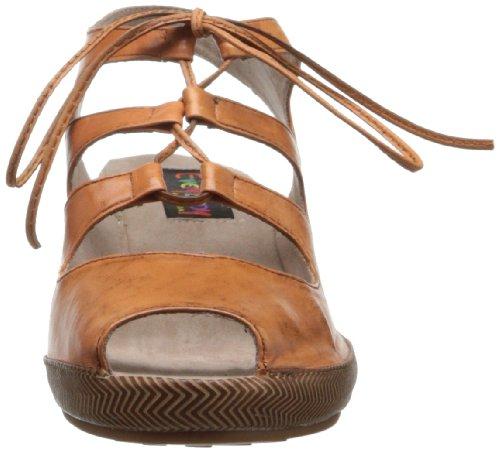 Tutte Le Donne Wadalla Piattaforma Sandalo Arancione