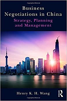 Descargar U Torrents Business Negotiations In China: Strategy, Planning And Management Torrent PDF