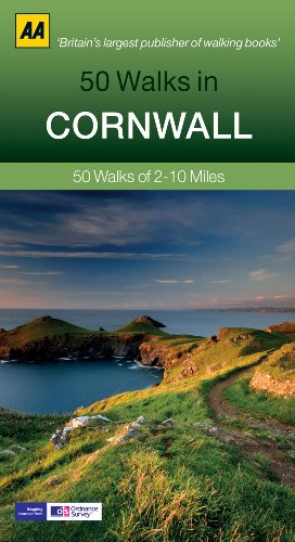 50 Walks in Cornwall: 50 Walks of 2–10 Miles