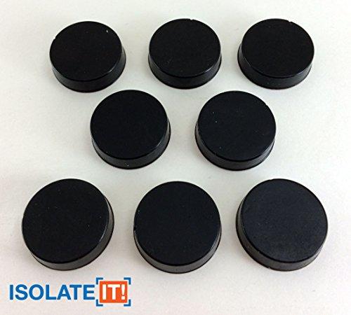 (Isolate It: Sorbothane Vibration Isolation Circular Disc Pad 0.25