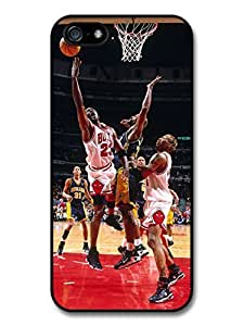Michael Jordan MJ 23 Basketball Jump Fight Case For Htc One M9 Cover