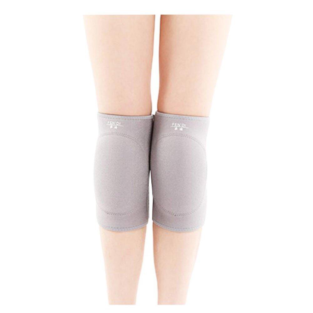 Ejercicio Fitness Ajustable Rodilleras Yoga / Danza / Articulaciones Joven Cintura L Grey Black Temptation
