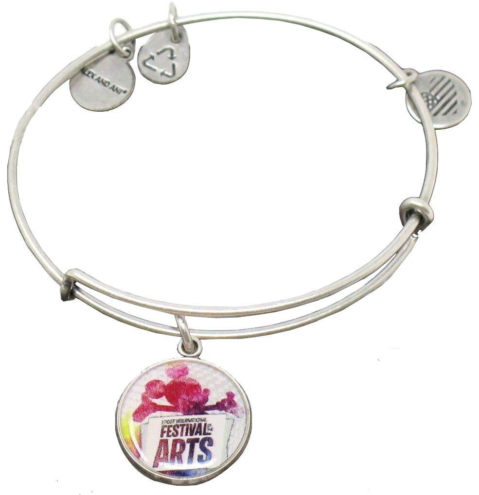 Alex and Ani Disney Parks Epcot International Festival of The Arts 2018 Bracelet - Silver