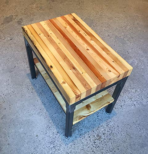 """Grand Boulevard Reclaimed Wood End Table 18"""" x 28"""""""