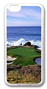 Case Cover For Apple Iphone 6 4.7 Inch , Golf Hole Custom Design Hard Case Cover for Case Cover For Apple Iphone 6 4.7 Inch with Screen Hard Transparent