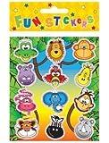 Wild Animals Stickers (12 Packs)