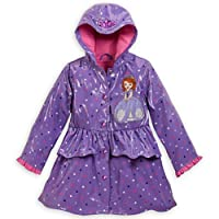 Disney Store Sofia the First Rain Jacket Coat Extra Extra Small 3 3T
