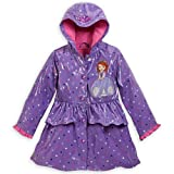 Disney Store Sofia the First Rain Jacket Coat Small 5 - 6 5T