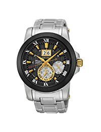 New Seiko SNP129 Premier Kinetic Novak Djokovic Special Edition Men's Watch by Seiko Watches