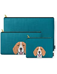 Society6 Lenon - Beagle Gifts For Pet Owners And Dog Person With A Beagle Carry-All Pouch