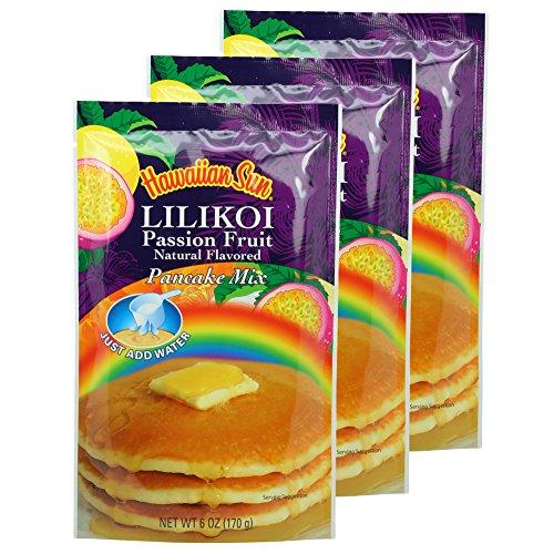 (Hawaiian Sun Lilikoi Passion Fruit Pancake Mix (3 Pack))