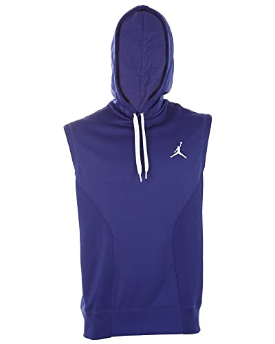 b7885f3168ab5 Jordan Dominate Pullover Sleeveless Hoodie Mens Style   634925 Germain  Blue Germain Blue White