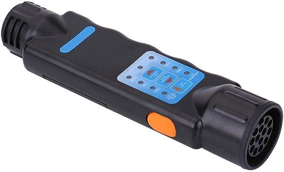 Kimiss Trailer Socket Tester 12v 13 Poliges Led Lichtkabel Kabelstecker Steckdosentester Für Das Abschleppen Von Anhängerkupplungen Auto
