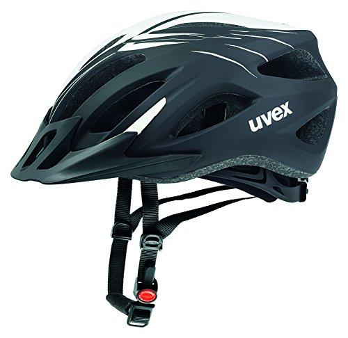 Uvex Fahrradhelm Viva 2, Scream Black-White Mat, 56-62, 4101041417