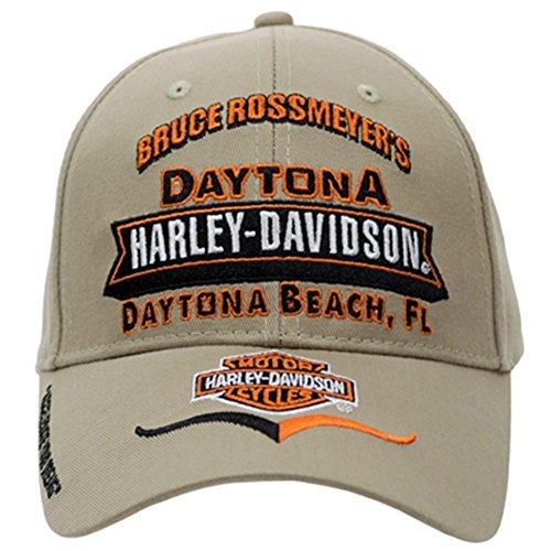 Custom Ball Caps (Harley-Davidson Custom Bruce Rossmeyer's Khaki Ball Cap)