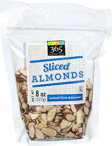 365 Everyday Value Almonds, Sliced, 8 Ounce