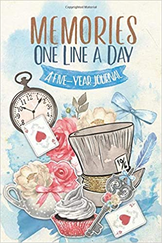 Memories One Line A Day A Five Year Journalbeautiful Mindfulness Diary Daily Memory Book Gift Ideas Alice Beautiful Mindfulness Diary Daily Memory Book Gift Ideas Alice Rivers Julia