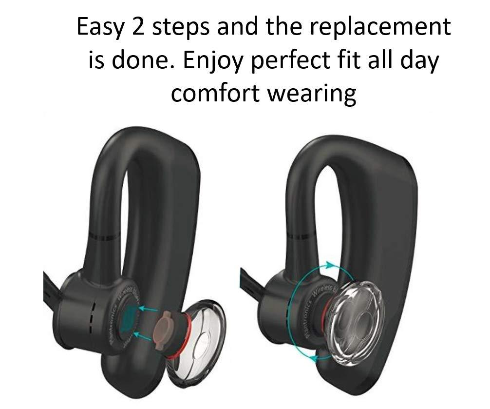 Juego de 3 Almohadillas de Espuma para Auriculares Plantronics Voyager Legend con Bluetooth