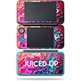 MightySkins Skin For Nintendo 2DS XL - Juiced Up | Protective, Durable, and Unique Vinyl Decal wrap cover | Easy To Apply, Remove, and Change Styles | Made in the USA