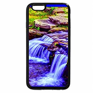 iPhone 6S / iPhone 6 Case (Black) Rocky Falls By RJ