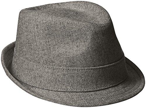 New Era Fedora (New Era Cap Men's EK Wool Fedora Hat, Gray, Large)