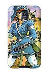 DanMarin Snap On Hard Case Cover Nausicaa Of The Valley Of The Wind Protector For Galaxy S5