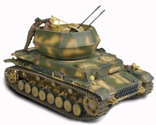 unimax toys. unimax forces of valor 1:32 scale german flakpanzer iv wirbelwind- poland toys o