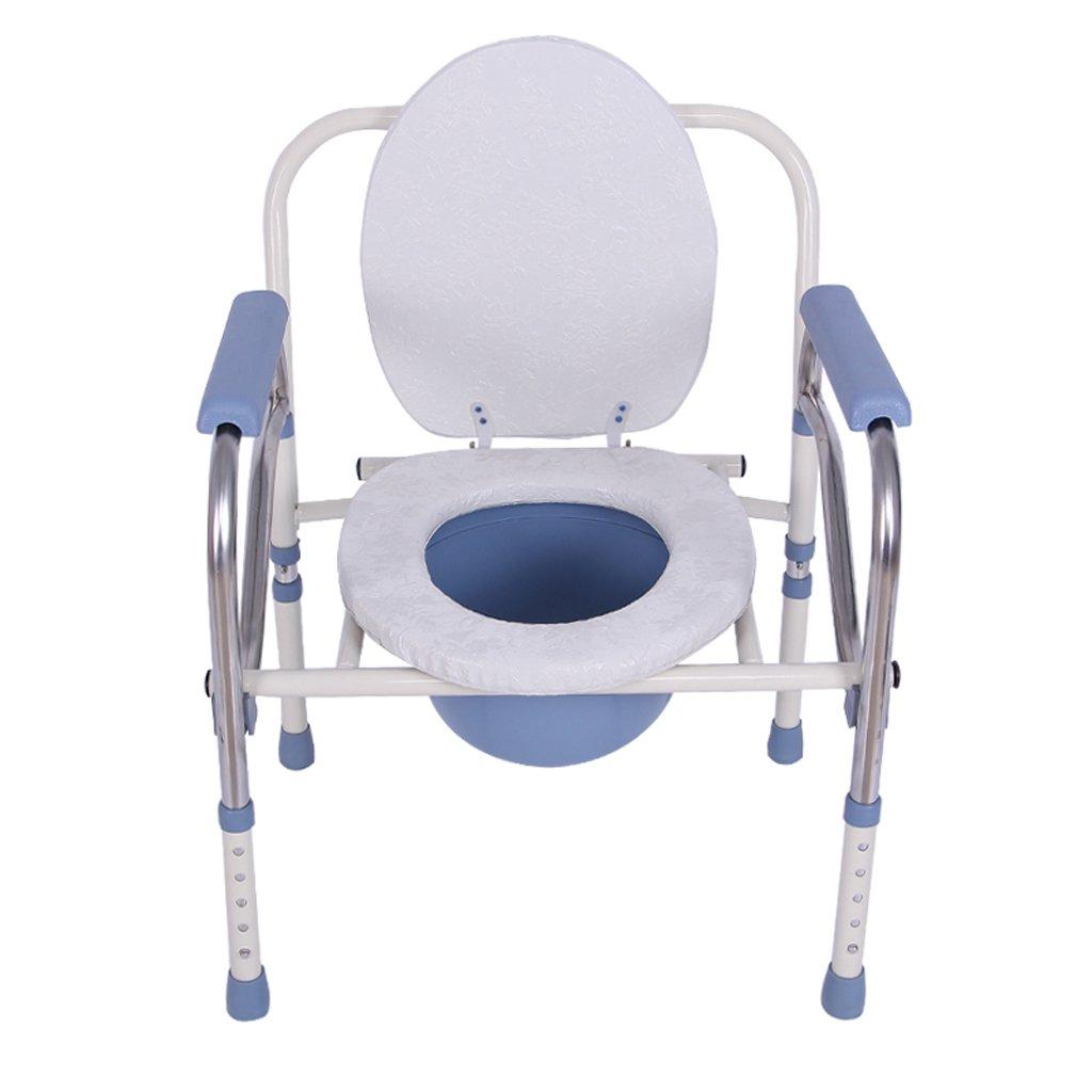 セットアップ Shariv-シャワーチェア トイレの椅子ステンレススチールの便座トイレの折り畳み式の椅子ホーム64* 53 53 38cmに適した* 38cmに適した* B07DMD7B4G, ロレックス専門店サテンドール:8c946768 --- construtoraalvorada.com.br