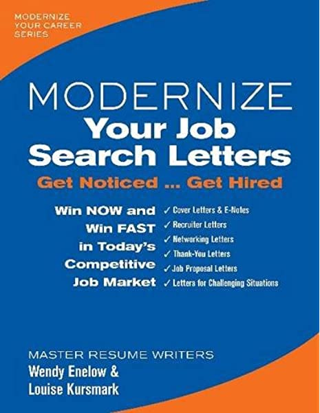 Modernize Your Job Search Letters Get Noticed Get Hired