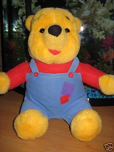 Mattel Hug N Wiggle Pooh Talking Plush Toy  1997