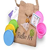 Rustic Art Collapsible Menstrual Cup (Large)
