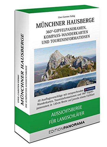 Münchner Hausberge Faltpanoramen: Aussichtsberge für Langschläfer