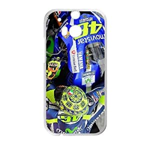 HTC One M8 phone cases White 46 Valentino Rossi10) fashion cell phone cases TRUG1024817