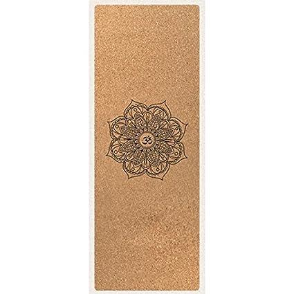 Mobeka 3.5mm Cork Yoga Mat Non Slip Picnics Ropa de Cama ...