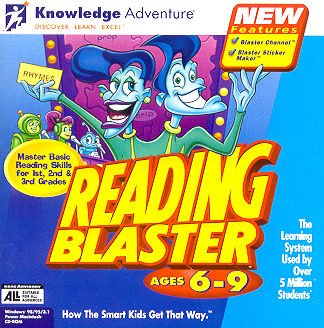 Knowledge Adventure Reading Blaster - Reading Blaster Ages 6-9