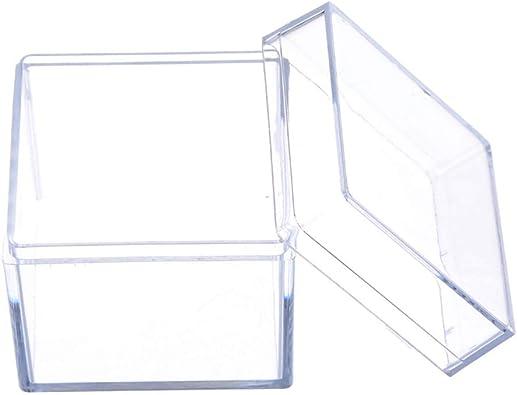 Senoow - Caja de almacenamiento para joyas de acrílico ...