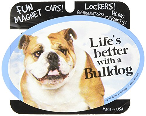 - Prismatix Decal Cat and Dog Magnets, Bulldog