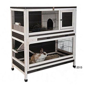 Lounge Small Pet Cage Jaula para Mascotas de Conejo y cobaya ...