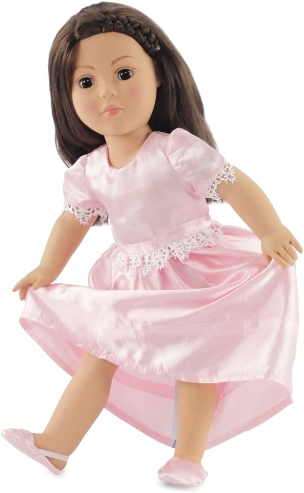 Girl and Doll Matching Bunny Easter Nightgown Clothes ft American Girl Dollie Me