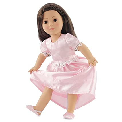 6e1e6e674ec4 Amazon.com  18 Inch Doll Clothes Pretty Nightgown - Fits American ...