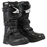 AXO Unisex-Child Drone Youth Boots (Black, Size 6)