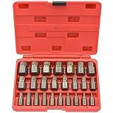 Best Bolt Extractor Sets - Multi-Spline Screw Extractor | 25pc Set Hex Head Review