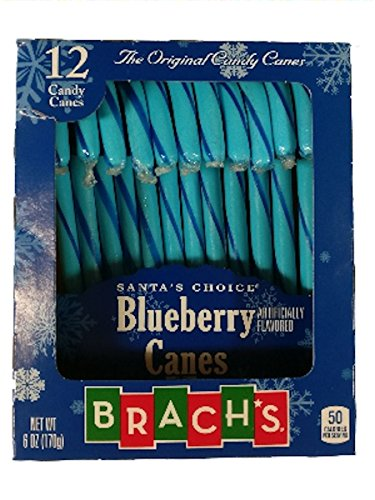 Brach's Blueberry Flavored Candy Canes -