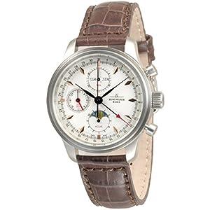 Zeno-Watch Mens Watch - NC Retro Chrono Fullcalendar - 9557VKL-g2-N1